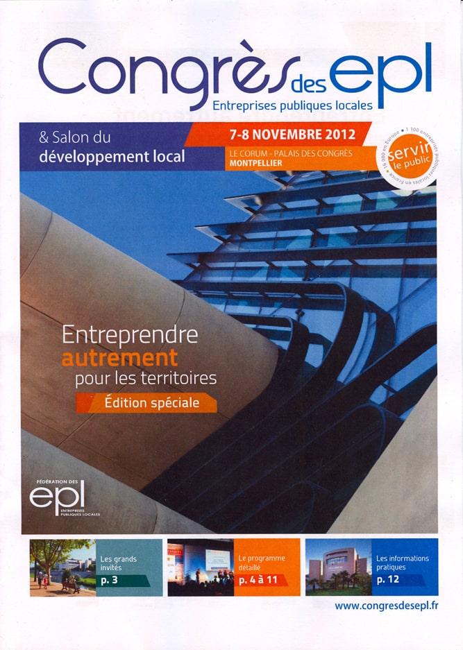 Couverture du catalogue du Congrès des Epl
