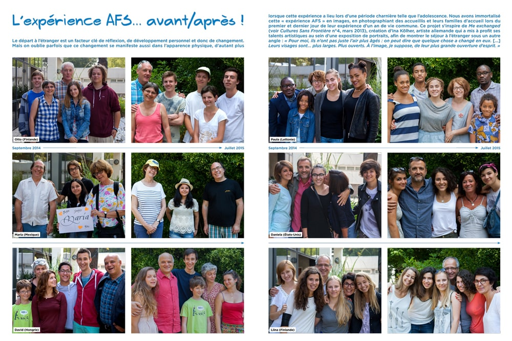Contact magazine AFS