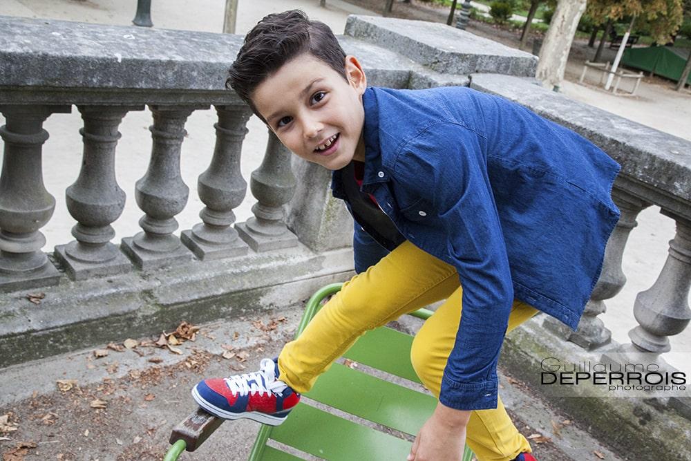 Photographe portrait enfant Mehdi 1 à montpellier