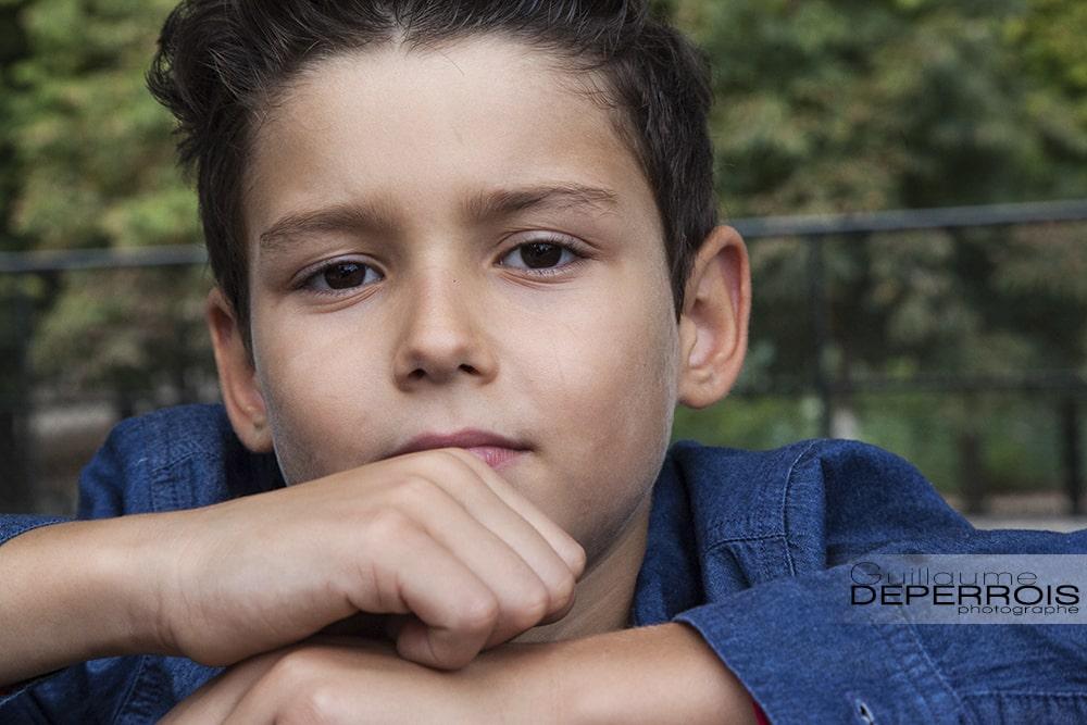Photographe portrait enfant Mehdi 2 à montpellier