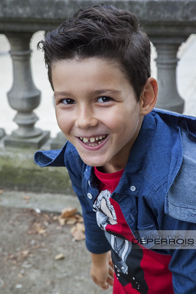 Photographe portrait enfant Mehdi 4 à montpellier