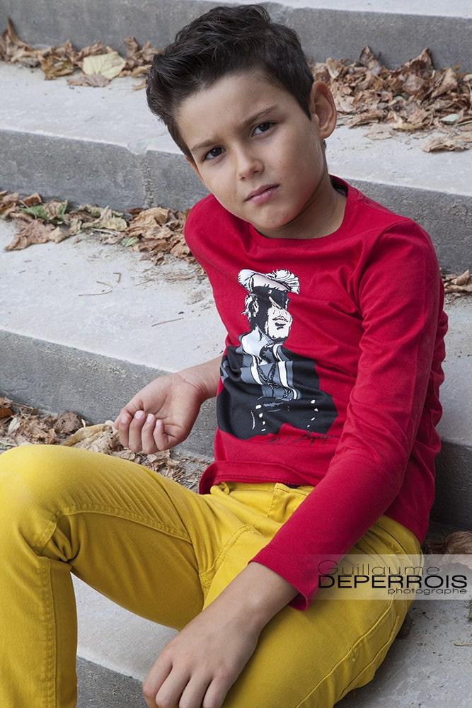 Photographe portrait enfant Mehdi 5 à montpellier