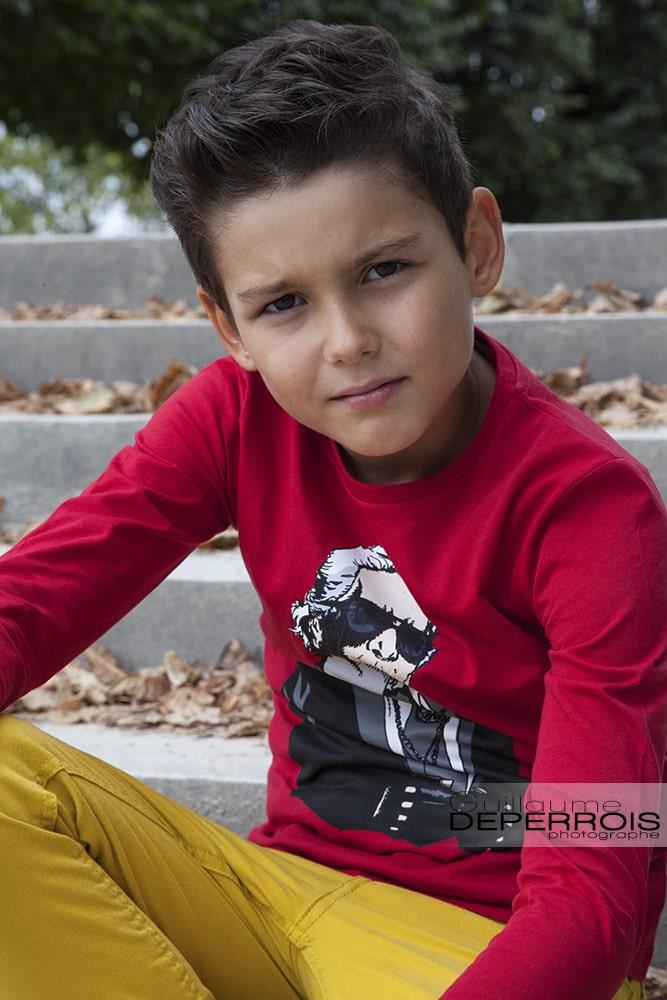 Photographe portrait enfant Mehdi 6 à montpellier