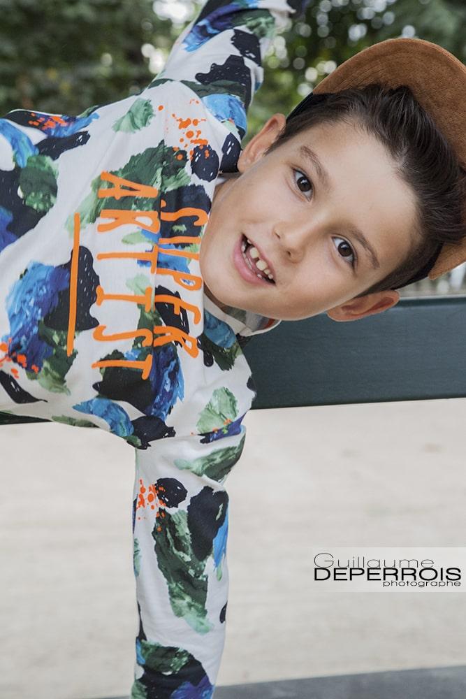 Photographe portrait enfant Mehdi 7 à montpellier