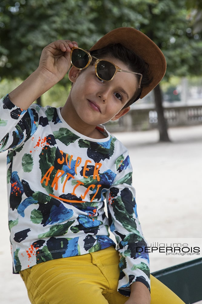 Photographe portrait enfant Mehdi 8 à montpellier