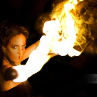 Aline on Fire 2