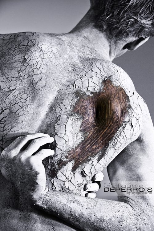 men & textures - The Rift tirage d'art