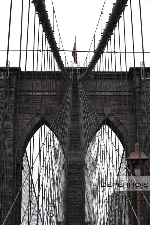 Brooklyn bridge tirage d'art