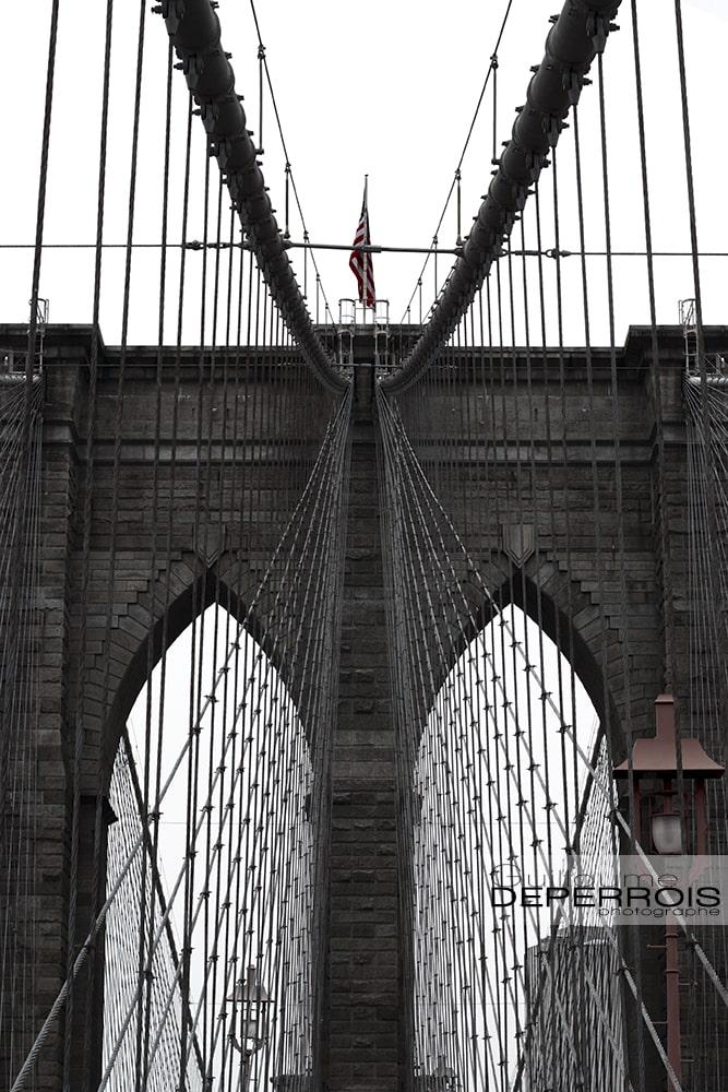 Brooklyn bridge tirage d'art