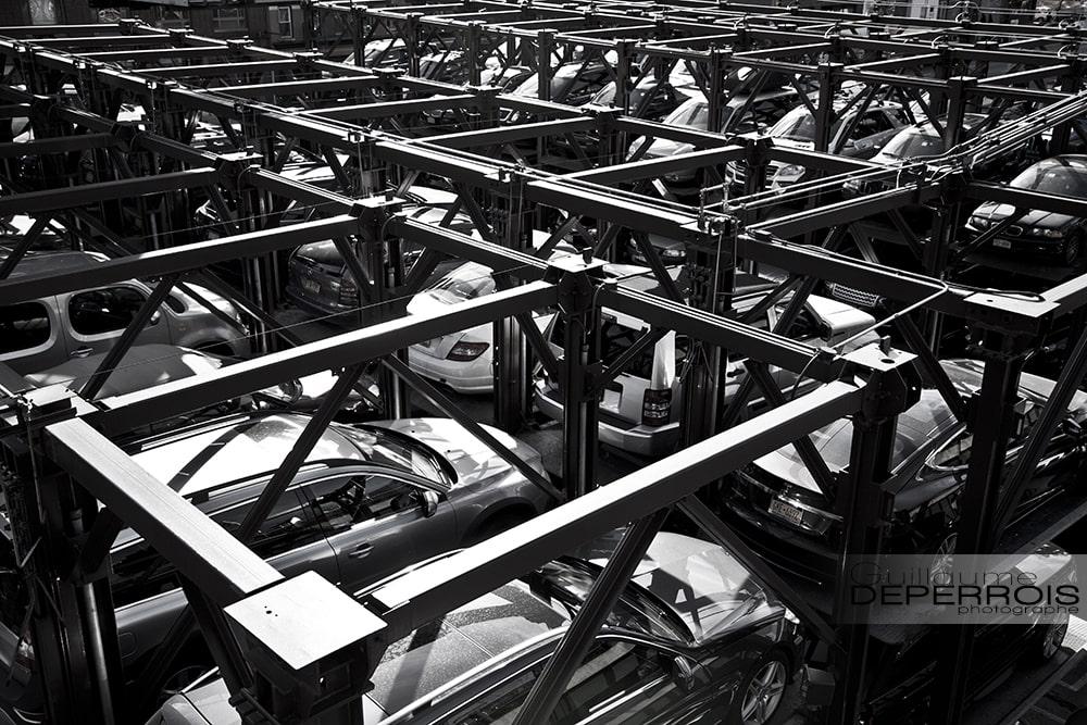 Car Park New York tirage d'art
