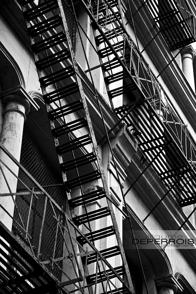 Escape Stair New york tirage d'art