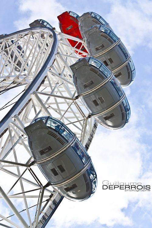 London Eye tirage d'art