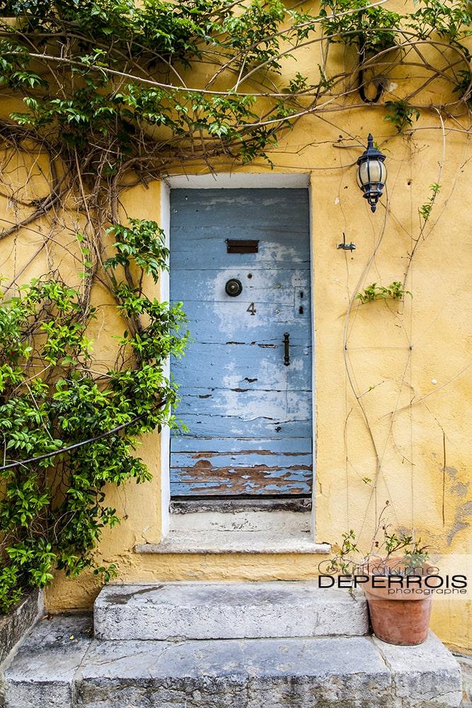 Provence door tirage d'art