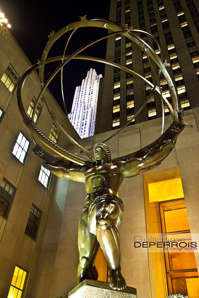 Statue New York tirage d'art