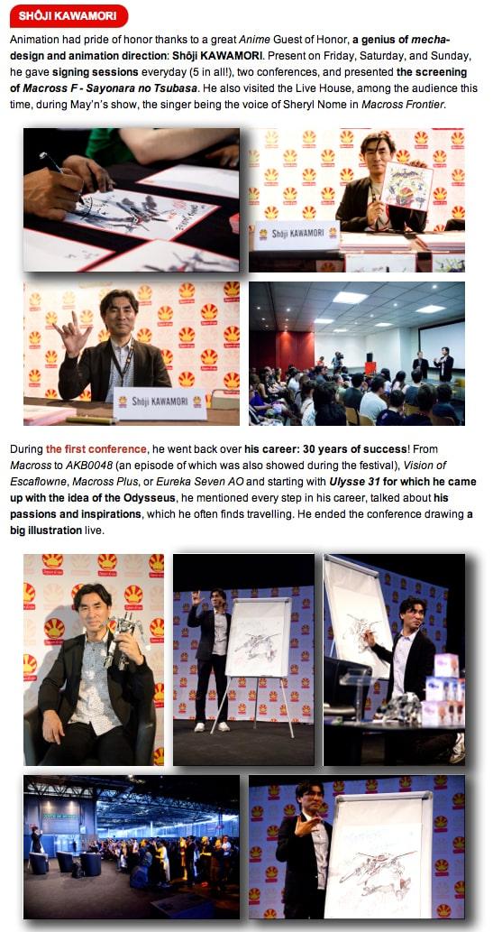 Convention japonaise Japan Expo