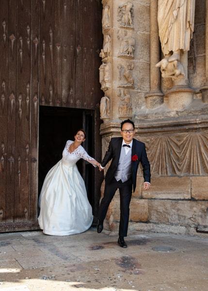photographe de mariage église de Reims
