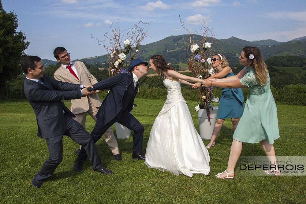 """photographe de mariage """"Charlotte & Nicolas"""" au Pays Basque 36"""