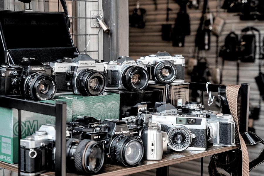 Choix des appareils photos