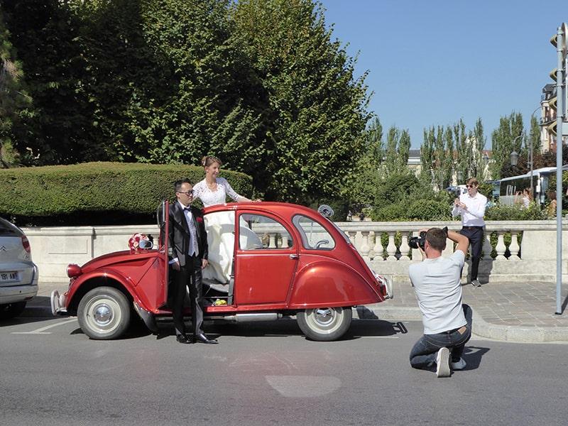Photographe de mariage photo de couples