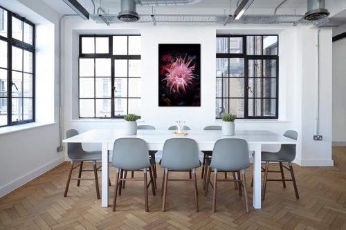 Anemone decor de style industriel