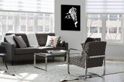 Cheval camarguais decor de style moderne
