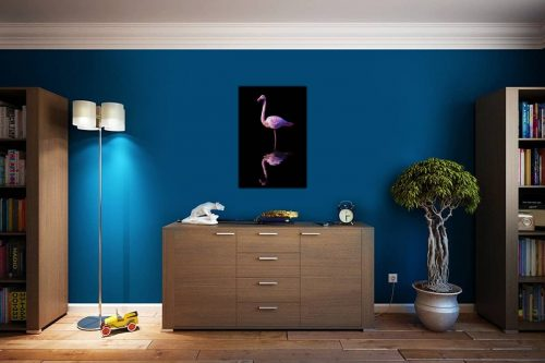 Flamant rose decor de style cosy