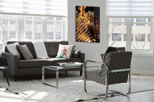 Flame Toronto decor de style moderne