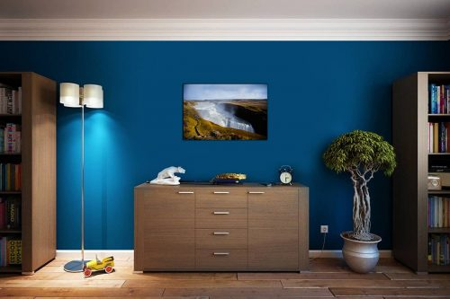 Gulfoss Iceland décor de style cosy