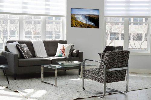 Gulfoss Iceland decor de style moderne