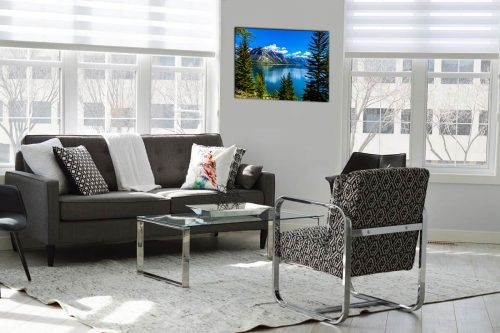 Lake minnewanka decor de style moderne