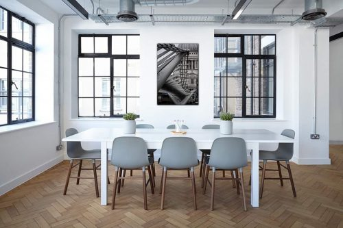 London Bridge decor de style industriel