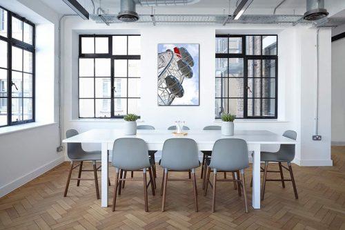 London Eye decor de style industriel