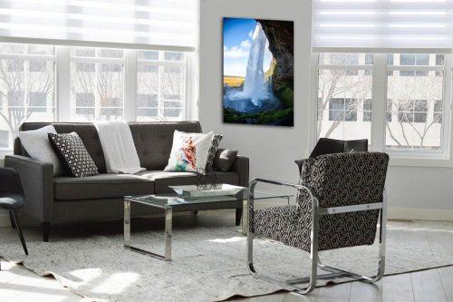 Seljalandsfoss decor de style moderne