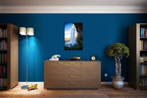 Seljalandsfoss decor de style cosy