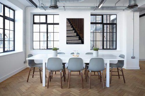 Stairs decor de style industriel