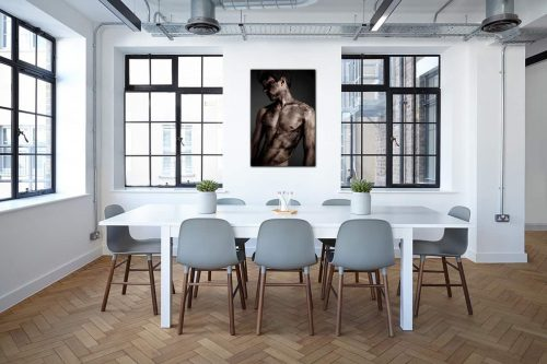 The miner decor de style industriel