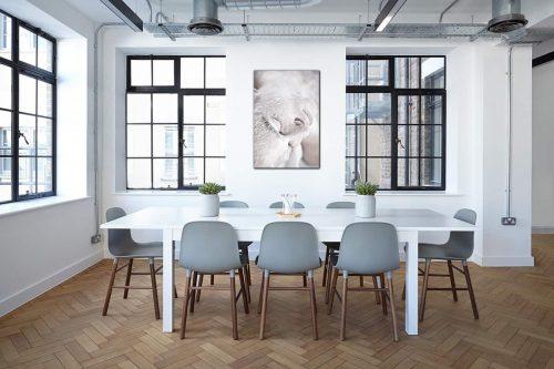 The snow white decor de style industriel