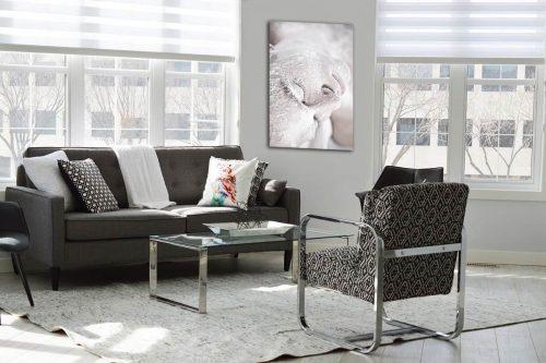 The snow white decor de style moderne
