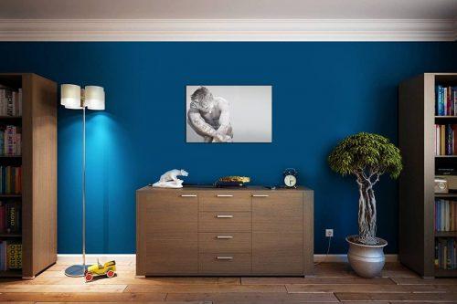 The thinker décor de style cosy