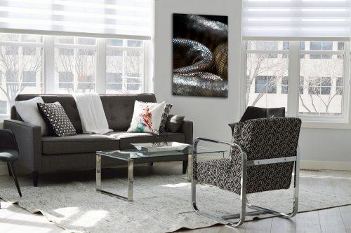 Snake skin decor de style moderne