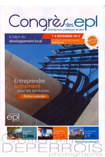 catalogue congrès des EPL