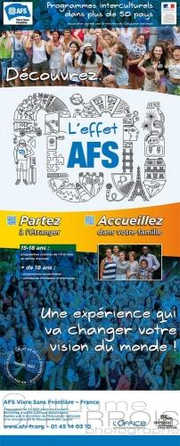 AFS kakemono d accueil
