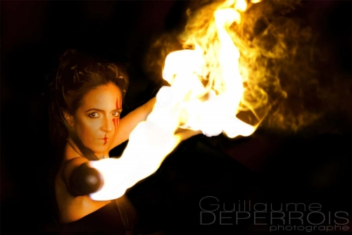 Aline on fire 2