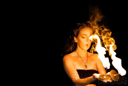 Aline on fire 3